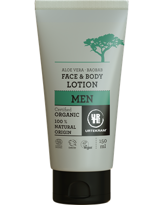 Urtekram Mens Face & Body Lotion