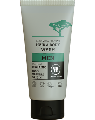 Urtekram Mens Hair & Body Wash