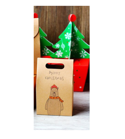 Vegan Store Cinder Toffee Polar Bear Christmas Gift Box