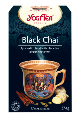 Yogi Organic Black Chai Tea