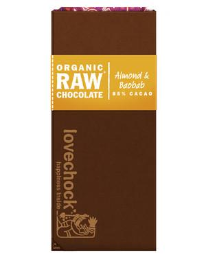 Lovechock Raw Chocolate - Almond & Baobab