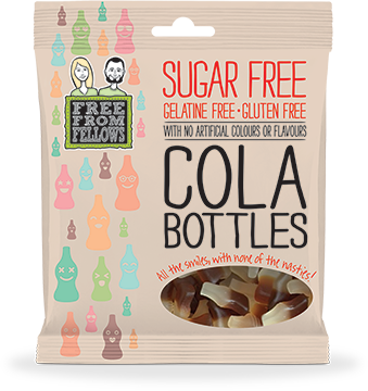 Free From Fellows - Sugar Free Cola Bottles