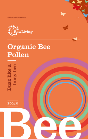 Raw Living Organic Bee Pollen
