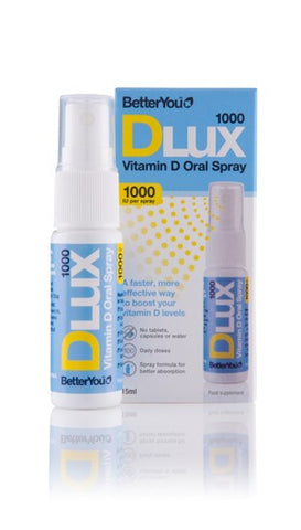 BetterYou Dlux 1000 Vitamin D Oral Spray
