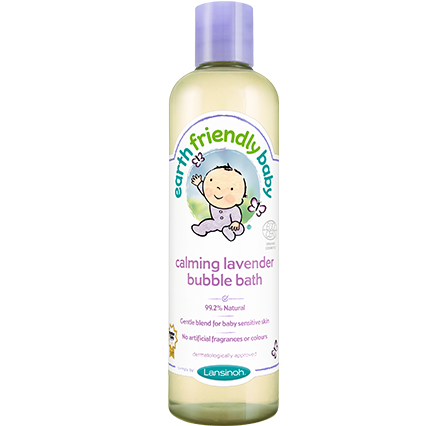 Earth Friendly Baby Lavender Bubble Bath