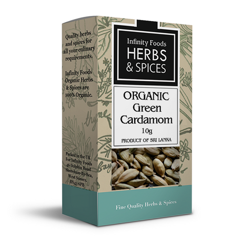 Infinity Herbs & Spices Organic Cardamom Pods