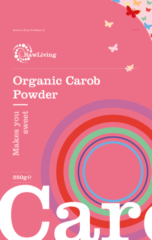 Raw Living Organic Carob Powder