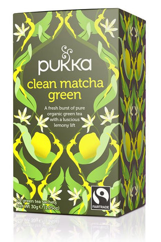 Pukka Organic Clean Matcha Green Tea