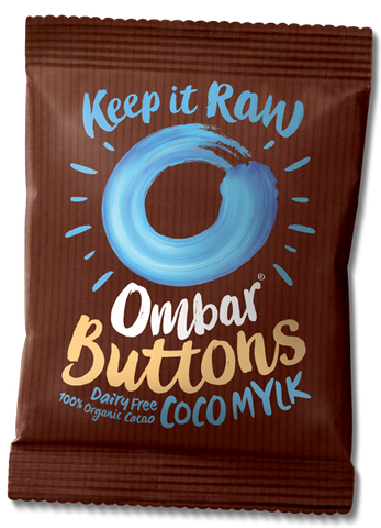 Ombar Organic Raw Chocolate - Coco Mylk Buttons
