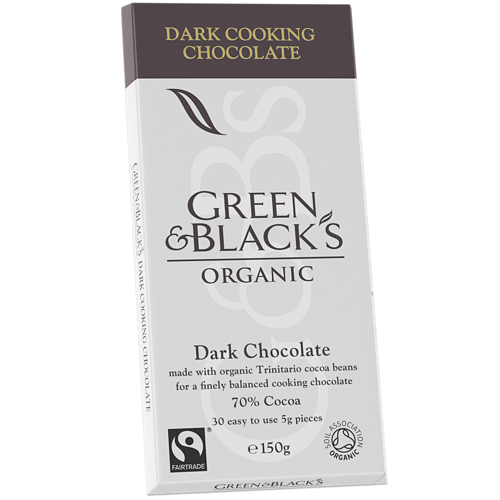 G&B Organic Dark Cooking Chocolate