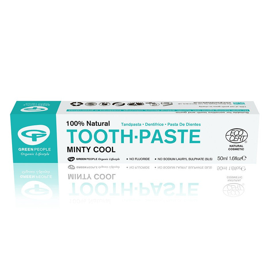 Green People Toothpaste Minty Cool