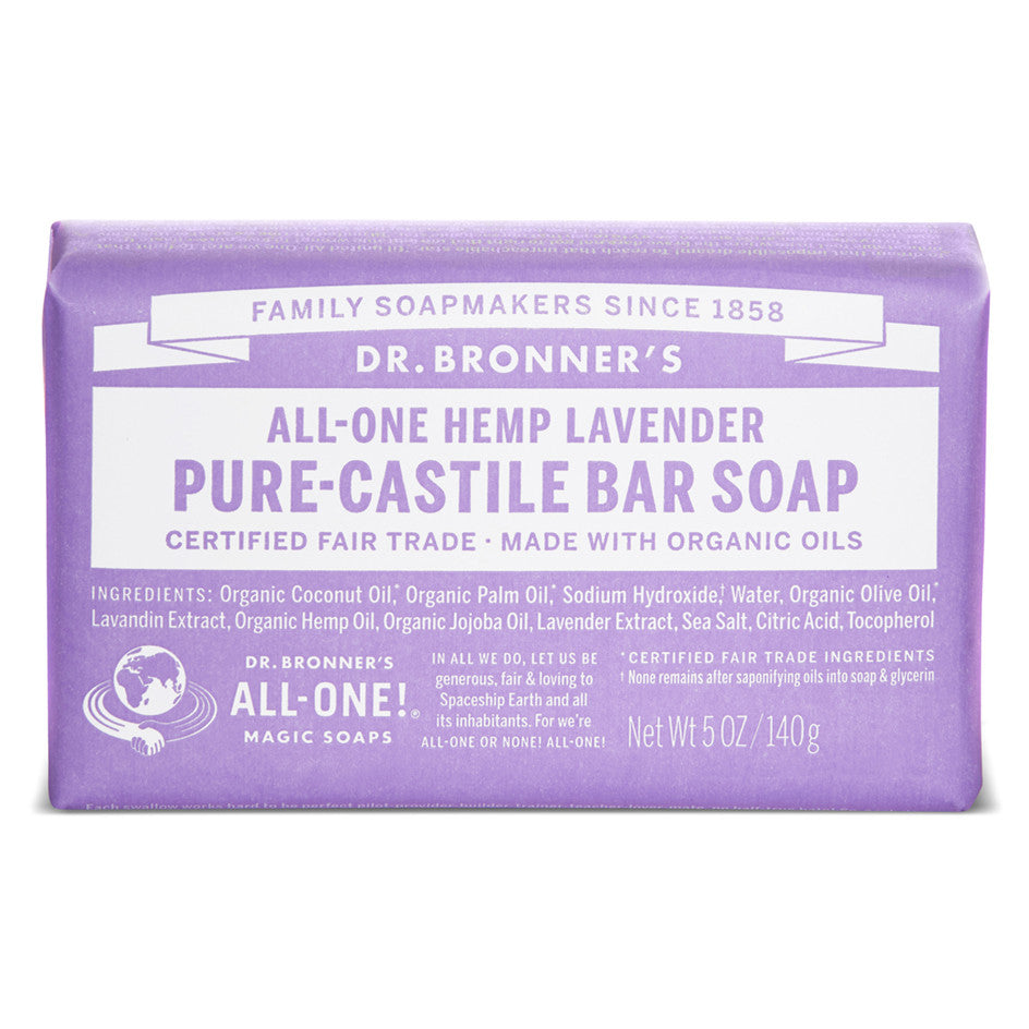 Dr.Bronner Soap Bar - Lavender