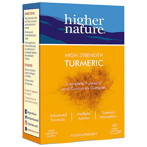Higher Nature High Strength Turmeric