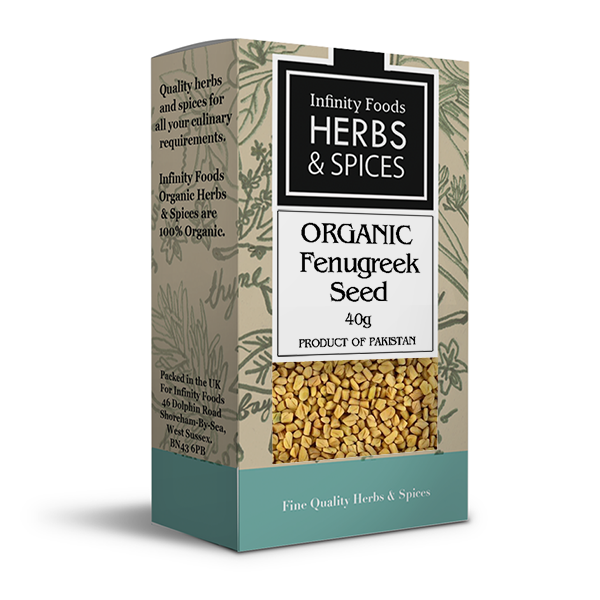 Infinity Herbs & Spices Organic Fenugreek Seed