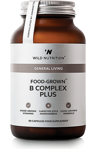 Wild Nutrition FOOD-GROWN B Complex Plus