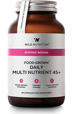 Wild Nutrition FOOD-GROWN Woman Daily Multi Nutrient 45+
