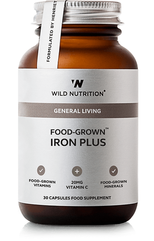 Wild Nutrition FOOD-GROWN Iron Plus