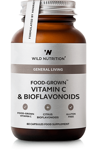 Wild Nutrition FOOD-GROWN Vitamin C & Bioflavonoids