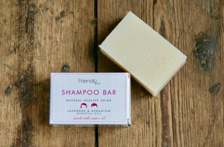 Friendly Soap - Shampoo Bar Lavender and Geranium