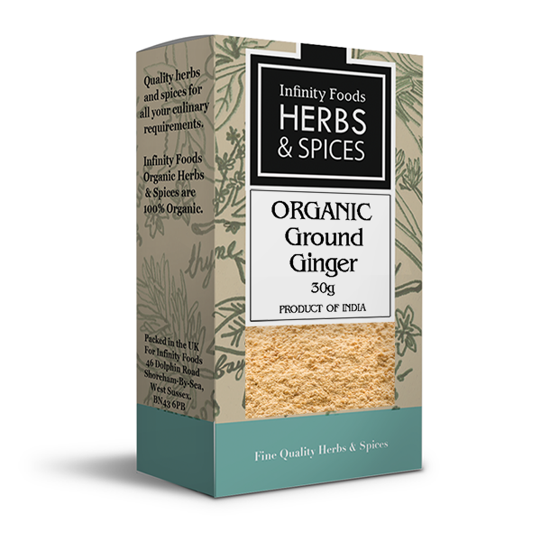Infinity Herbs & Spices Organic Ginger (Ground)