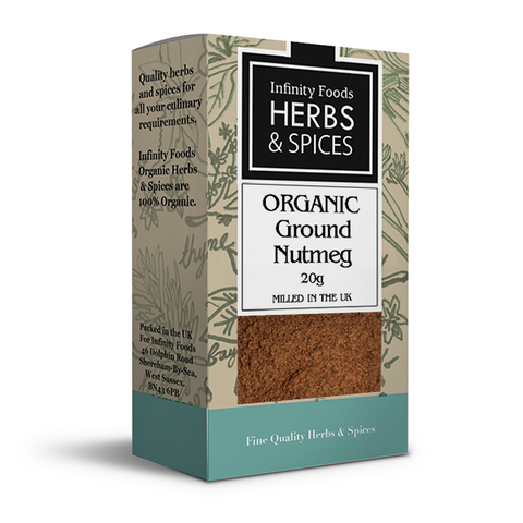 Infinity Herbs & Spices Organic Nutmeg (Ground)