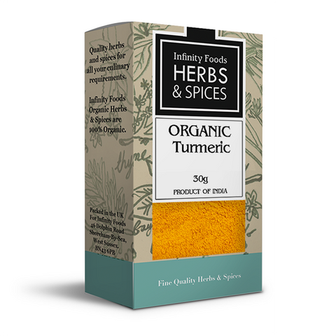 Infinity Herbs & Spices Organic Turmeric (Ground)