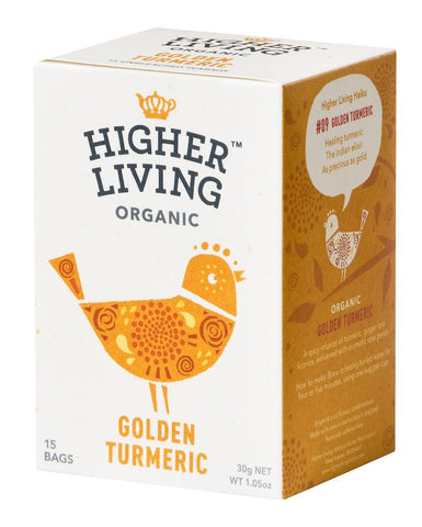 Higher Living Organic Golden Turmeric Tea