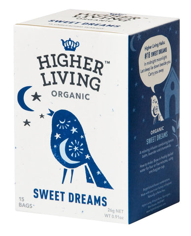 Higher Living Organic Sweet Dreams Tea