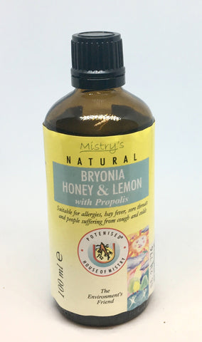 Mistry's Bryonia Honey & Lemon