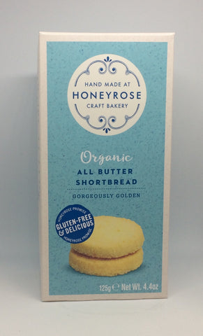 Honeyrose Organic All Butter Shortbread
