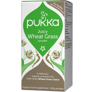 Pukka Juicy Wheat Grass Powder