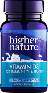 Higher Nature Vitamin D 500iu