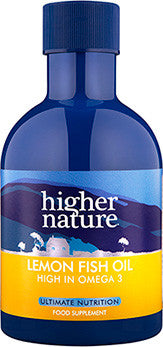 Higher Nature Lemon Fish Oil