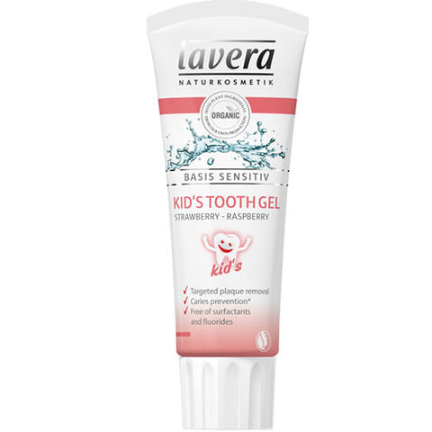 Lavera Basis Sensitive Kid's Toothgel Strawberry-Raspberry