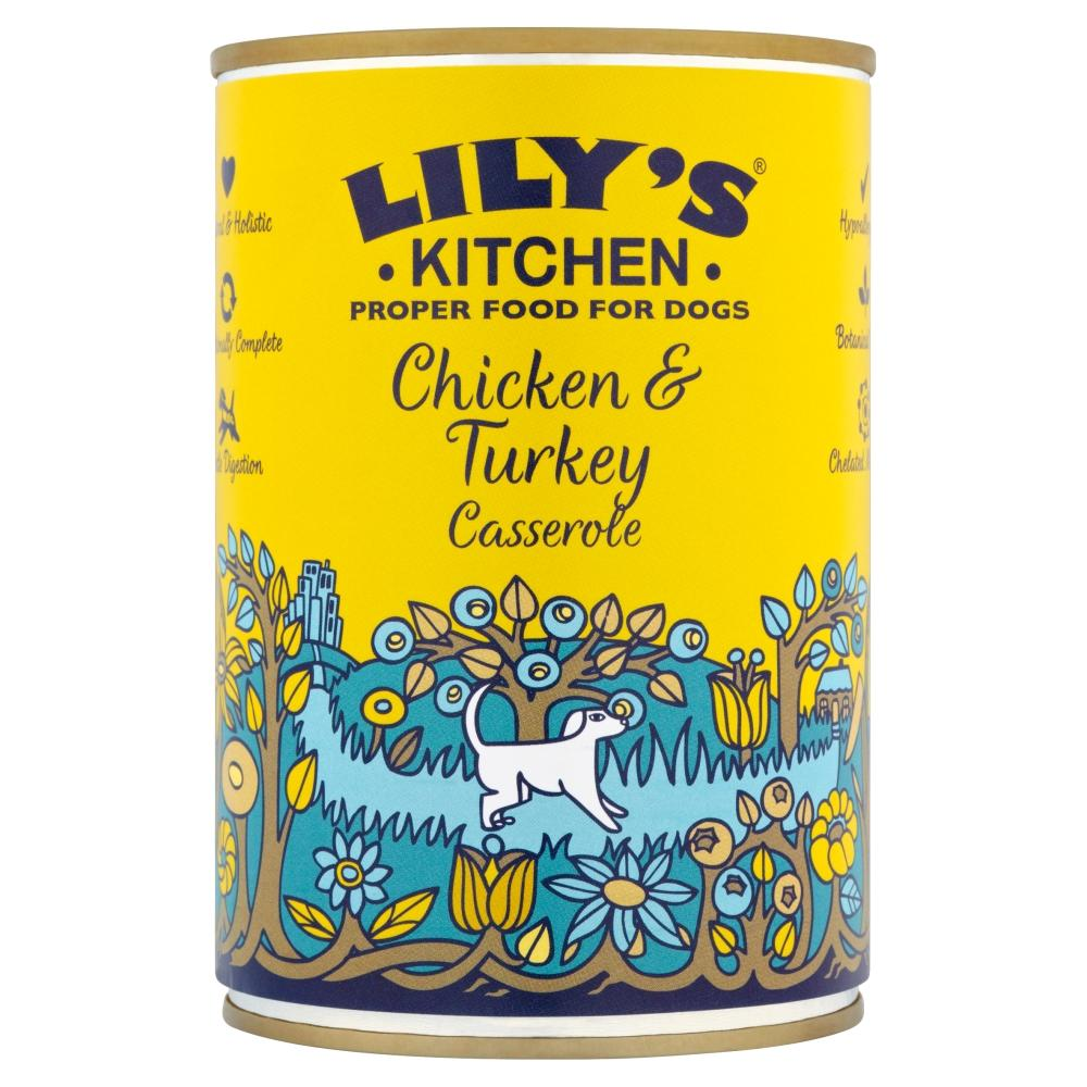Lily's Dog Food Chicken & Turkey Casserole