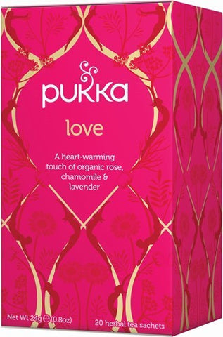 Pukka Love Herbal Blend Tea
