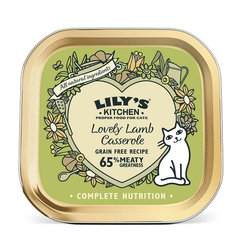 Lily's Cat Food - Lovely Lamb Casserole