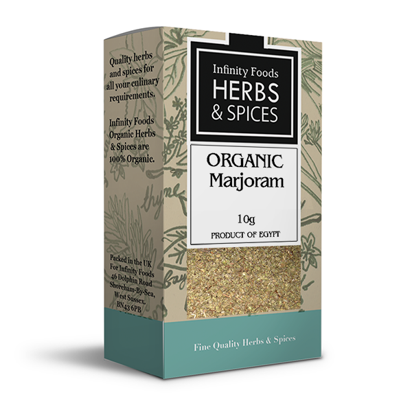 Infinity Herbs & Spices Organic Marjoram