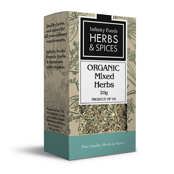 Infinity Herbs & Spices Organic Mixed Herbs