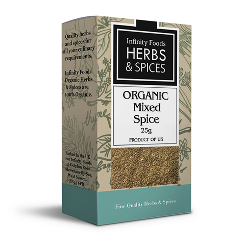 Infinity Herbs & Spices Organic Mixed Spice
