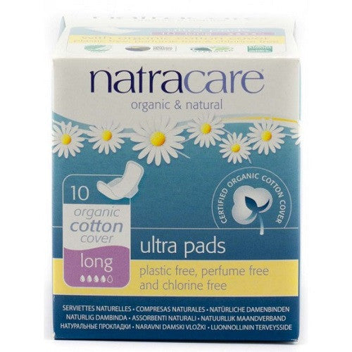 Natracare Ultra Pads - Long