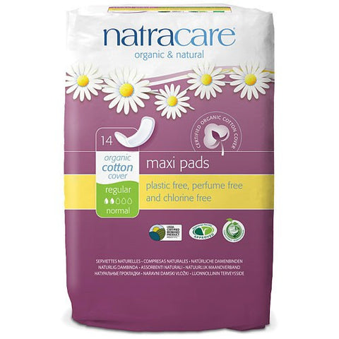 Natracare Maxi Pads - Regular