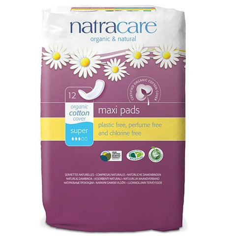 Natracare Maxi Pads - Super