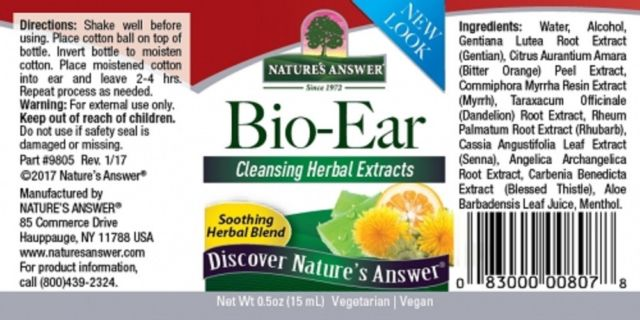 Nature's Answer Bio-Ear Topical Formula