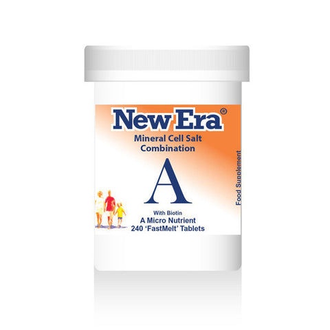 New Era Mineral Cell Salts Combination A