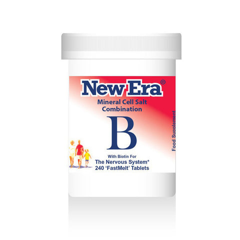 New Era Mineral Cell Salts Combination B