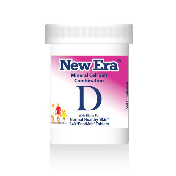 New Era Mineral Cell Salts Combination D
