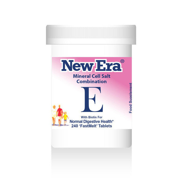 New Era Mineral Cell Salts Combination E
