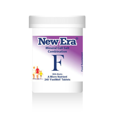 New Era Mineral Cell Salts Combination F