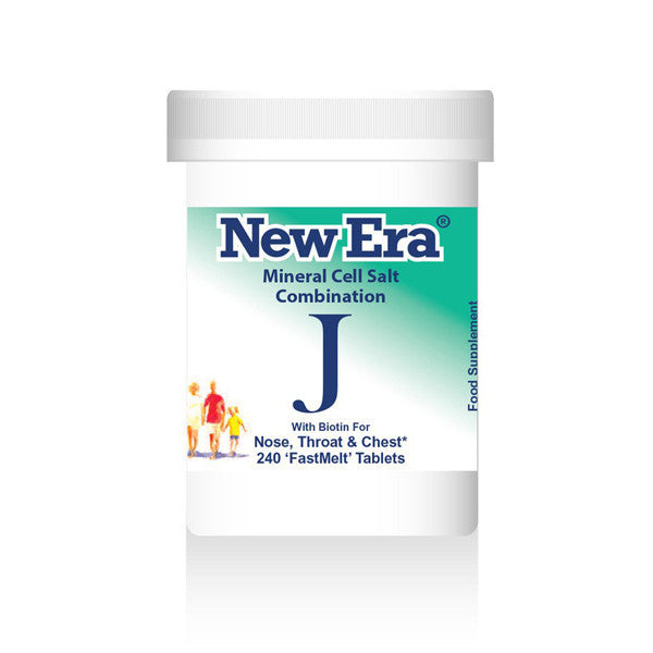 New Era Mineral Cell Salts Combination J